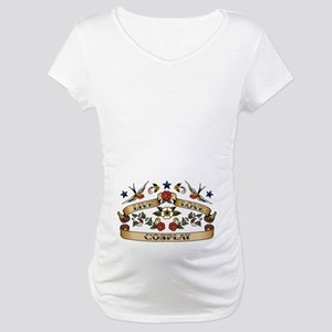 Live Love Cosplay Maternity T-Shirt