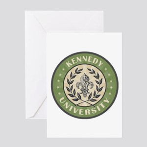 Kenneday Last Name University Greeting Card