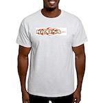 Khalsa Flame Ash Grey T-Shirt
