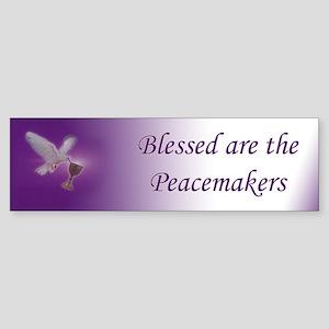 Peacemaker Bumper Sticker