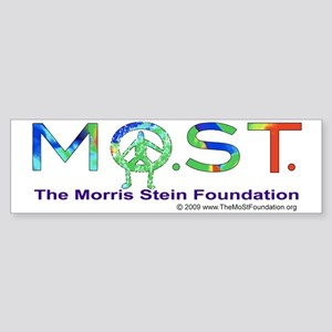 MoSt in Colors Bumper Sticker