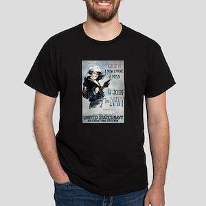 I Wish Navy Dark T-Shirt