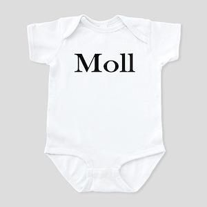 "Instant ""Moll"" Costume Infant Creeper"