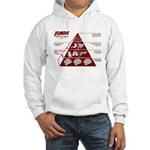 Zombie Food Pyramid Hooded Sweatshirt