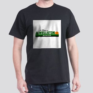 It's Better in Wellston, Mich Dark T-Shirt