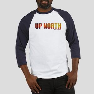 Up North, Michigan Baseball Jersey
