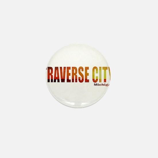 Traverse City, Michigan Mini Button