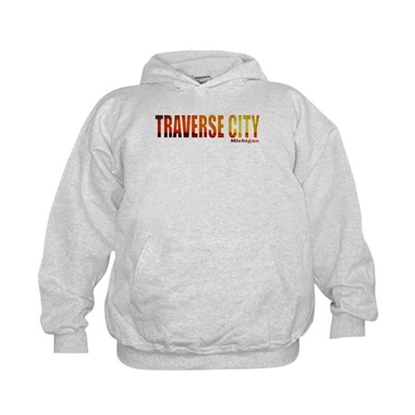 Traverse City, Michigan Kids Hoodie