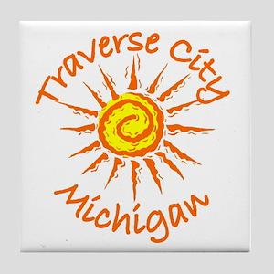 Traverse City, Michigan Tile Coaster
