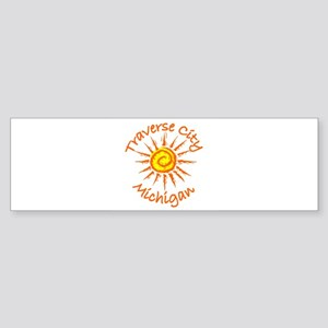 Traverse City, Michigan Bumper Sticker