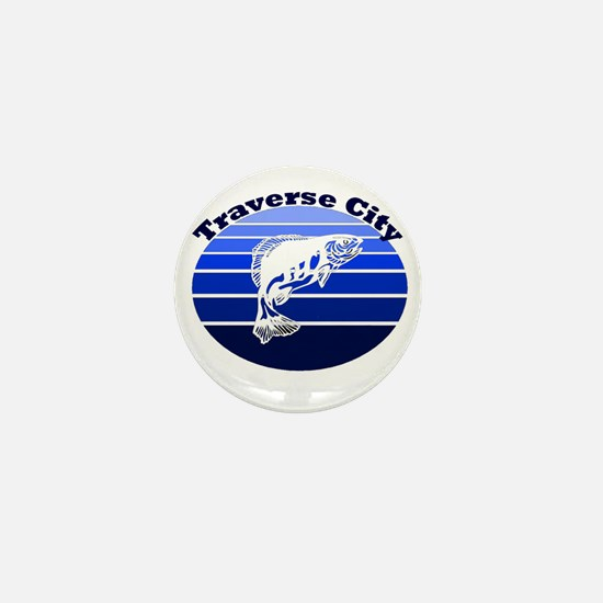 Traverse City, Michigan Mini Button