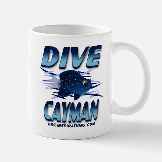 Dive Cayman (blue) Mug