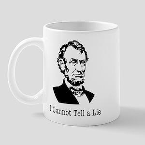 I cannot tell a lie Mug