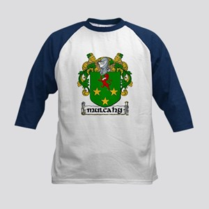 Mulcahy Coat of Arms Kids Baseball Jersey