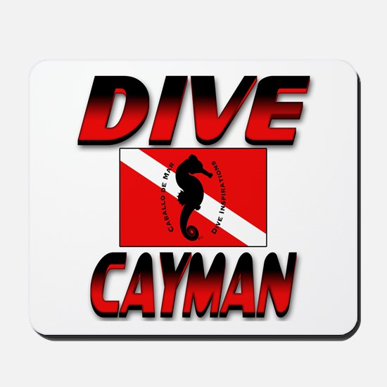 Dive Cayman (red) Mousepad