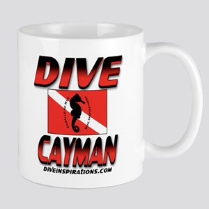 Dive Cayman (red) Mug