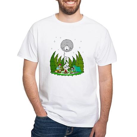camping fun men s classic t shirts camping fun white t