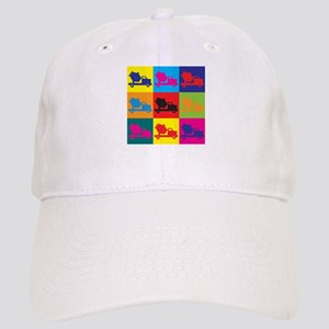 Concrete Pop Art Cap