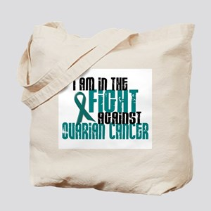In The Fight Against Ovarian Cancer 1 Tote Bag