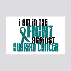 In The Fight Against Ovarian Cancer 1 Mini Poster