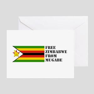 Zimbabwe Greeting Card