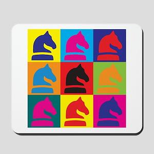 Chess Pop Art Mousepad