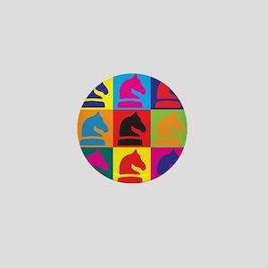 Chess Pop Art Mini Button