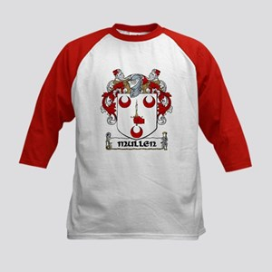 Mullen Coat of Arms Kids Baseball Jersey