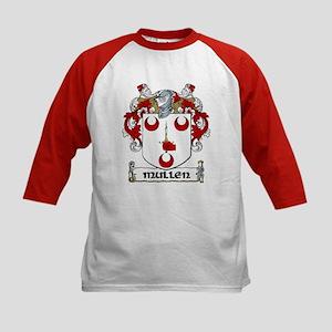 Mullen Coat of Arms Kids Baseball Jersey