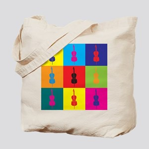 Cello Pop Art Tote Bag