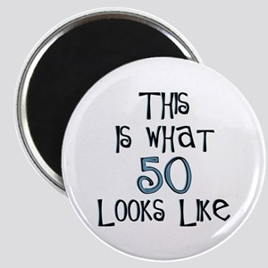 """This Is What 50 Looks Like 2.25"""" Magnet (10 pack)"""