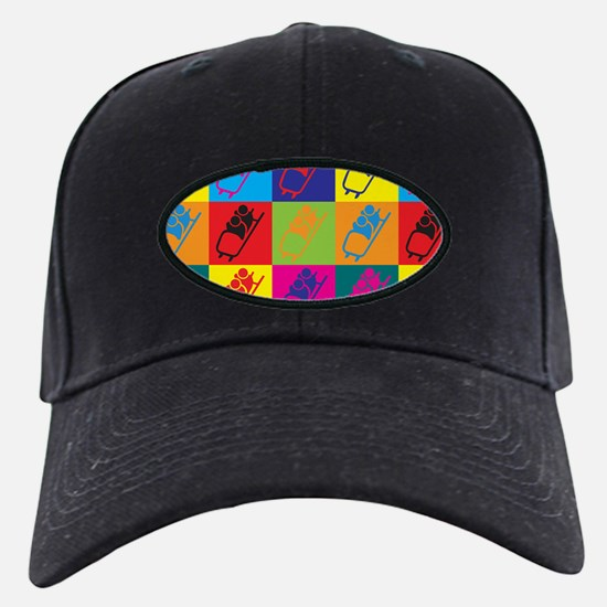 Bobsled Pop Art Baseball Hat