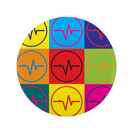 "Biomedical Engineering Pop Art 3.5"" Button (100 pa"
