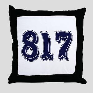 817 Throw Pillow