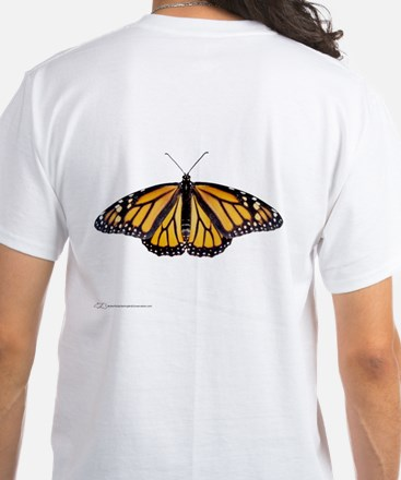 Monarch Baby and Adult - White T-Shirt