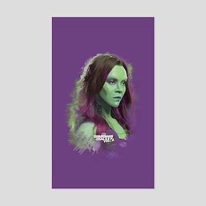 GOTG Gamora Portrait Sticker (Rectangle)
