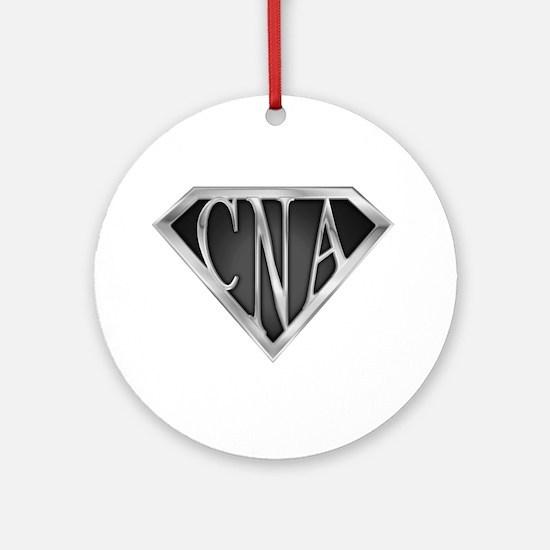 SuperCNA(metal) Ornament (Round)