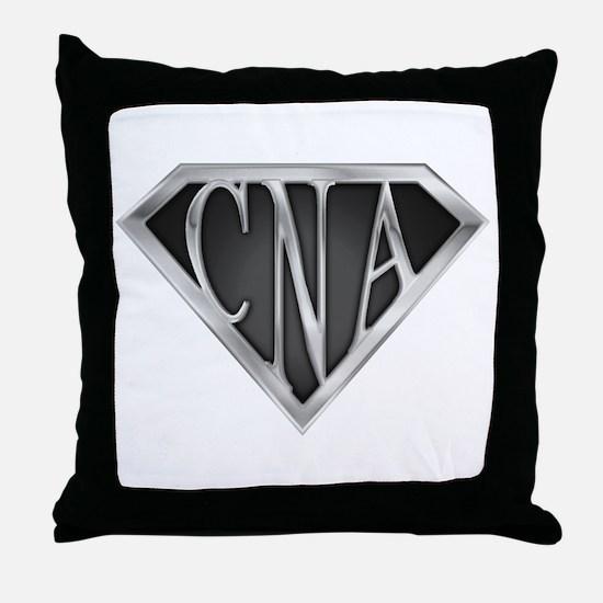SuperCNA(metal) Throw Pillow