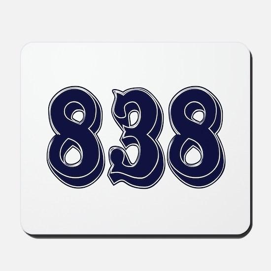 838 Mousepad