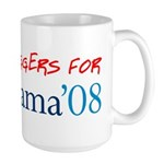 Bloggers for Obama Large Mug