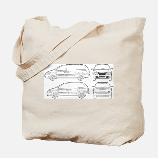 Chrysler Voyager Tote Bag