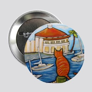 Cat at Casino Button