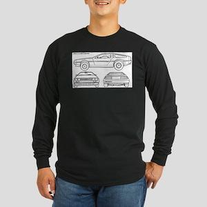 DeLorein Long Sleeve Dark T-Shirt