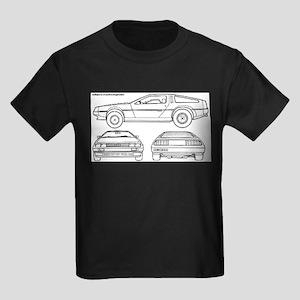 DeLorein Kids Dark T-Shirt