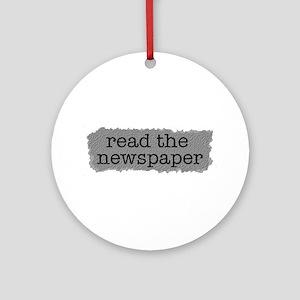 Read the paper Ornament (Round)