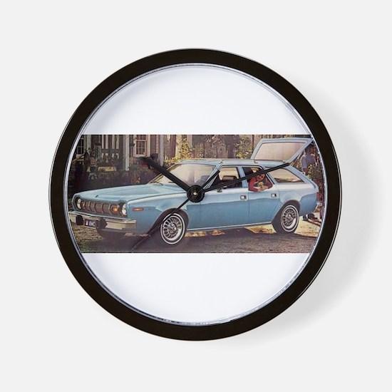 Hornet Wagon Wall Clock