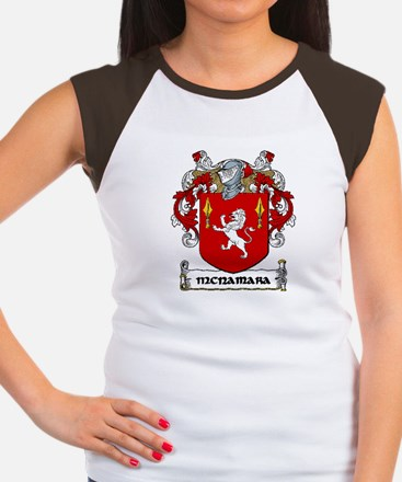 McNamara Coat of Arms Women's Cap Sleeve T-Shirt