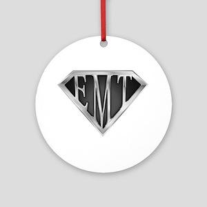 SuperEMT(METAL) Ornament (Round)