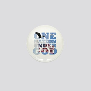 """One Nation Under God"" Mini Button"