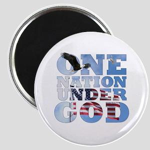 """""""One Nation Under God"""" Magnet"""